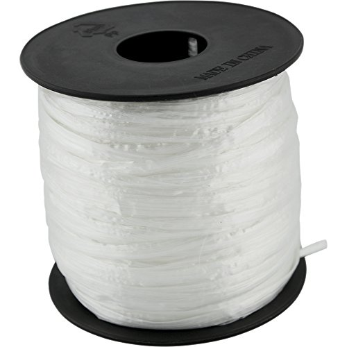 Packing Plastic Rope Twine 3/18 X100 Polyester Nylon Plastic Rope for Gardening, Arts and Crafts, Bundling Parcels and Wedding, Decorations, Gift ()