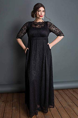 Leona Lace A-Line Plus Size Mother of Bride/Groom Gown Style 11180902