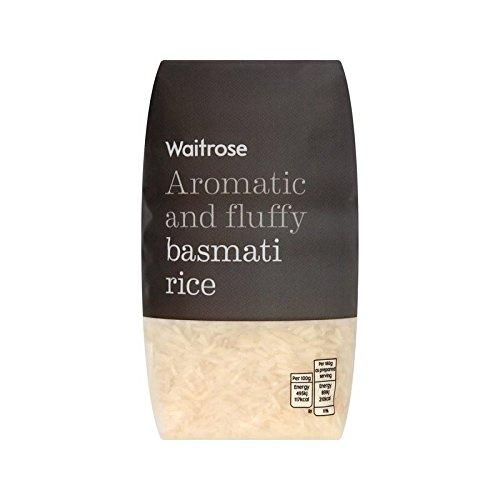 Basmati Aromatic Rice Waitrose 500g - Pack of 2