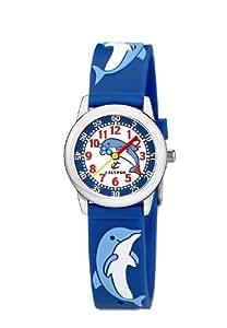 Calypso 6000/Q - Reloj para niñas de cuarzo, correa de piel color varios colores