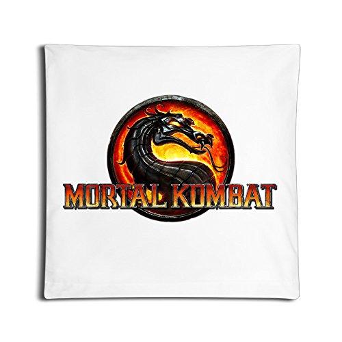 EDRE Mortal Kombat Logo Home Bedroom Pregnancy Pillow White]()