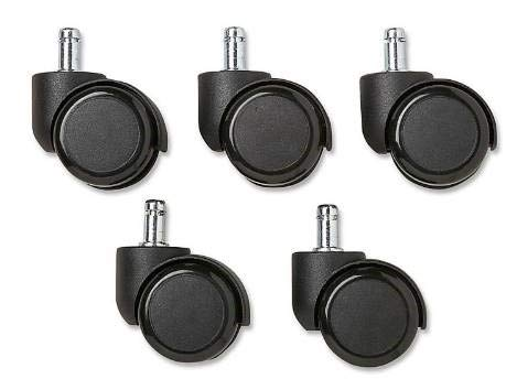 BRE Casters, Package of 5