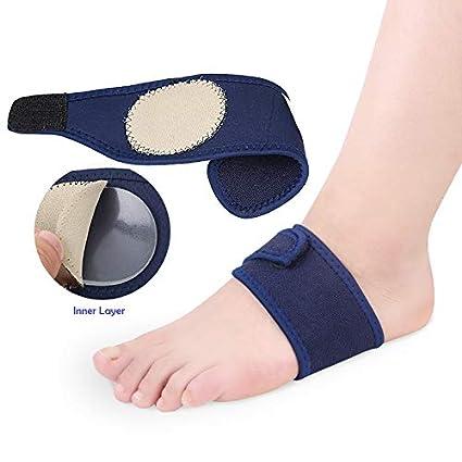 2dd6ce1bc5 Skudgear 2 Pieces Plantar Fasciitis Arch Heel Aid Feet Cushion Sleeve Pad Arch  Support Orthopedic Insoles