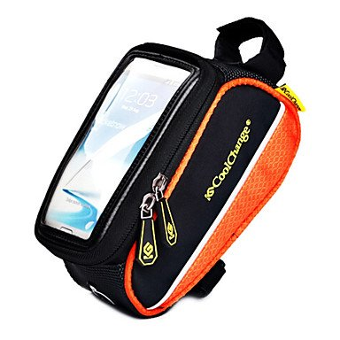ZXC/ COOLCHANGE Blue 600D Portable MTB Cycling Frame Bag Top Tube Bag