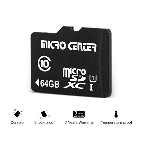 Micro Center 64GB Class 10 Micro SDXC Flash Memory Card with Adapter (2 Pack) by Inland (Image #3)