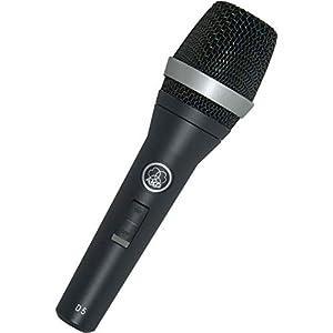 AKG Pro Audio Vocal Dynamic Microphone, Black...