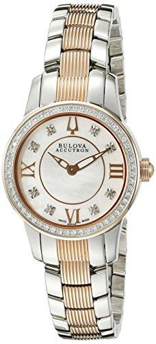 Bulova Women's 65R145 Masella Analog Display Swiss Quartz Two Tone Watch