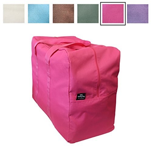 Big Handy Storage Bag & Home Organization Bag - Hot Pink - Large and Reusable - Stylish Storage and Laundry