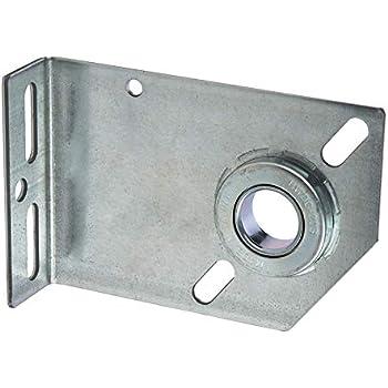 Garage Door End Bearing Plates Brackets One Pair L Amp R
