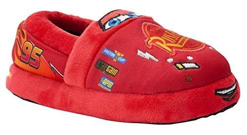 Disney Cars Boys Aline Slippers (Toddler/Little, Red, Size 11-12 M Us Little Kid