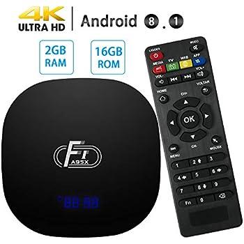 Amazon com: Android TV Box,Android 7 1 TV Box TX3 Mini 2GB