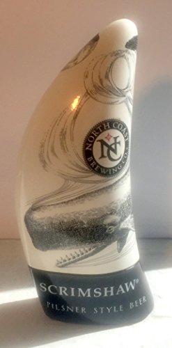 Scrimshaw Pilsner Style Ale Beer Tap Handle - North Coast Beer