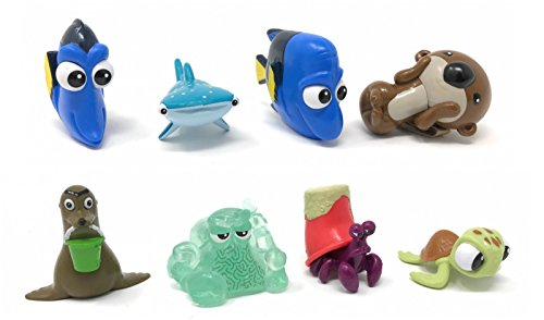 Bandai Finding Dory Collectible Mini Figure Series 3 Blind Bags (Complete Set of 8)