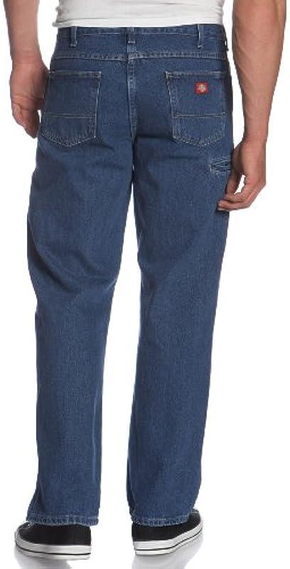 Dickies męskie spodnie robocze, Relaxed-Fit, podwÓjna podkładka pod kolana: Odzież