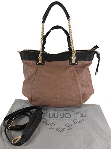 SHOPPING BAG CON CATENA DORATA LIU JO C4/16