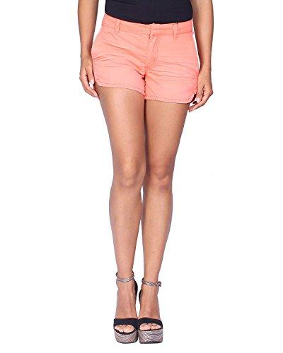 Kaporal Women's Shorts Rubye - Orange, US Size: M/UK Size: L by Kaporal