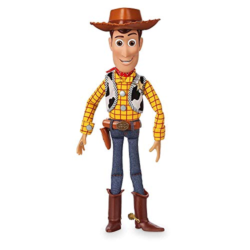 US디즈니 공식 토이 스토리 4 우디 talking 피규어 Woody Interactive Talking Action Figure