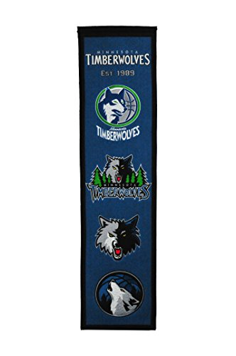 fan products of NBA Minnesota Timberwolves Heritage Banner