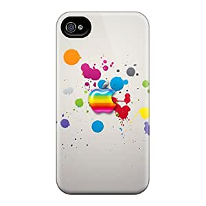 For Iphone Case, High Quality Glassy Colors For Iphone 4/4s Cover Cases