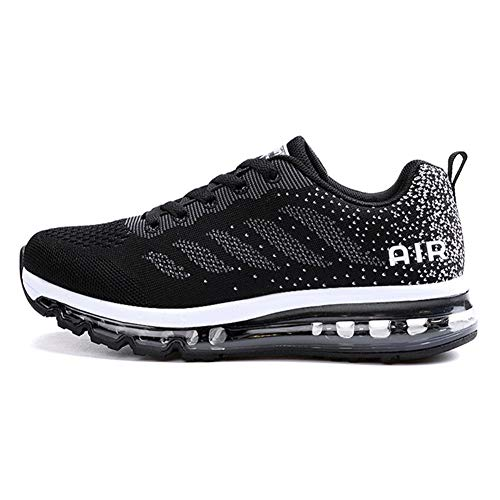 0aa71526ac1 TORISKY Womens Mens Walking Casual Shoes Air Cushion Running Jogging Gym  Sports Sneakers(833-BK40)