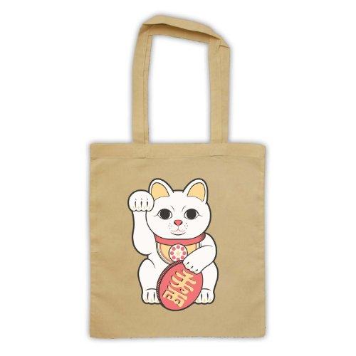 Tote Lucky Cat Bag Maneki Natural Neko qtaxEwR5