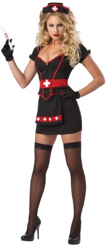 California Costumes Women's Eye Candy - Cardiac Arrest Adult, Black, X-Small