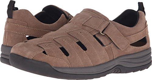 Drew Shoe Mens Dublin Casual Sandals  Brown Suede  7  4W