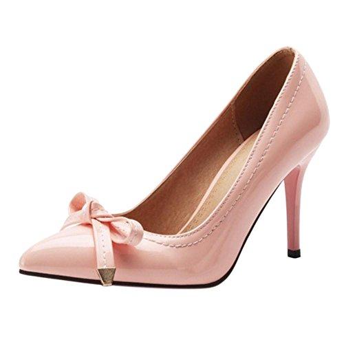 COOLCEPT Damen Stiletto Heel Pumps Pink