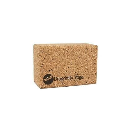 Dragonfly 4 Cork and Recycled EVA Foam Yoga Block: Amazon ...