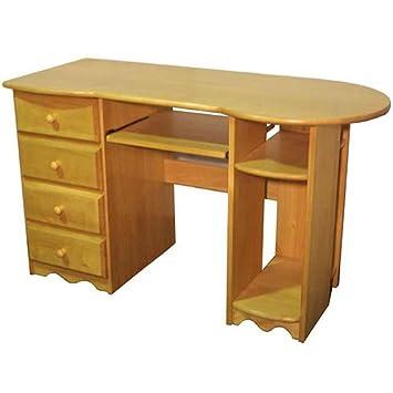 Delicieux Pine Computer Desk