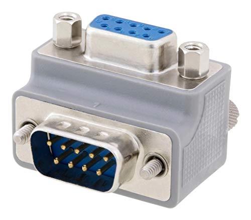 L-COM - DG909MF3-P - D SUB Adapter, DB9 Plug-RCPT ()