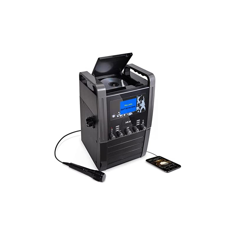 "Akai KS515 Karaoke System with 3.5"" Colo"