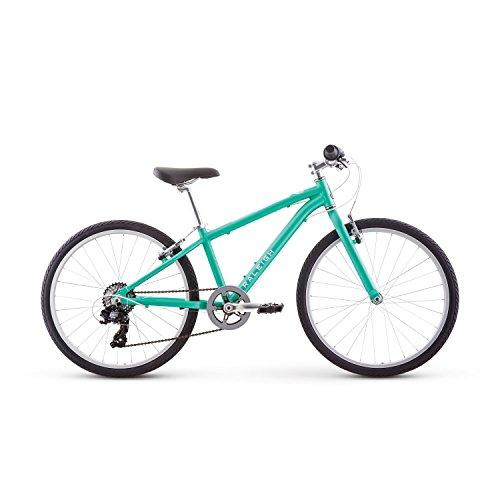 Raleigh Bikes Alysa 24 Kids Flat Bar Road Bike for Girls Youth 8-12 Years Old, Teal (Best Kids Bikes 24)