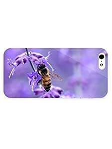 AWU DIY3d Full Wrap Case for iPhone 4s Animal Bee4s9