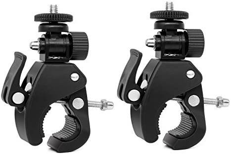 """Antrader Cameras Super Clamp Tripod Quick Release Pipe with 1//4/"""" 20..."""