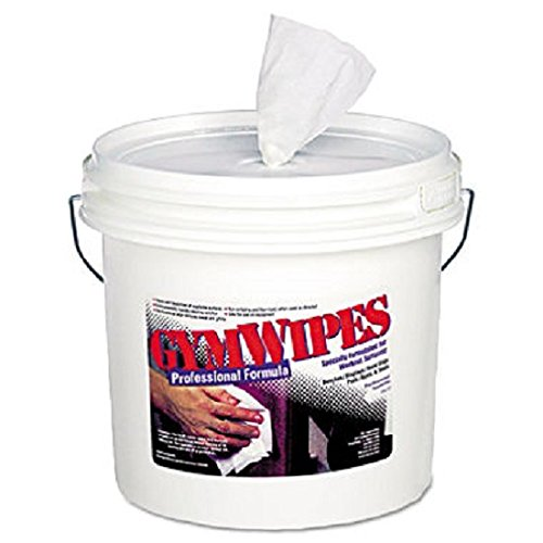 Antibacterial Gym Wipes, Unscented, 700/Bucket (2ct.) by Gym Wipes