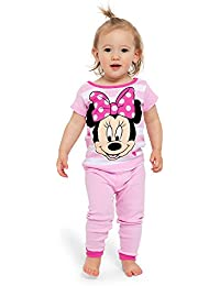 Girls  Minnie Mouse  4-Piece Pajama Set 40ec1fb36