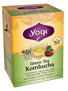 Yogi thé vert Kombucha - 16 Sachets de thé