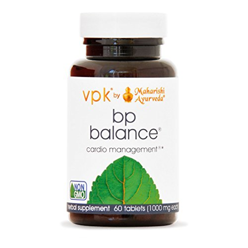 BP Balance | 60 Tablets - 1000 mg ea. | Natural Formula to Support Healthy Blood Pressure with Jatamansi & Arjuna | Detoxifies & Promotes Healthy Liver Function | Nourishes Blood Vessels & the Heart