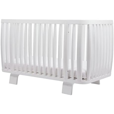 Bloom Retro Crib Coconut White