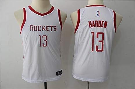 brand new 49de9 4a4a8 xjsm Men's Basketball Jerseys - Houston Rockets #13 Harden Basketball  Summer Vests Tops Sleevless T-Shirts