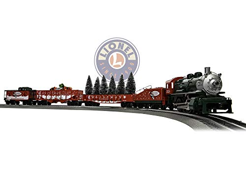 Lionel The Christmas Express, Electric O Gauge Model Train Set w/ Remote and Bluetooth Capability