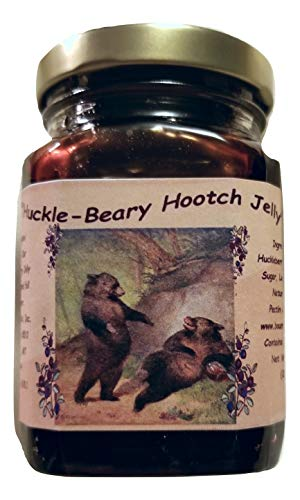 Montana Huckleberry Infused Wine Jelly - 9 oz Jars for sale  Delivered anywhere in USA