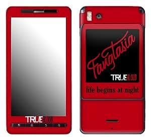 MusicSkins, MS-TRUB80151, True Blood - Fangtasia, Motorola Droid X/X2, Skin