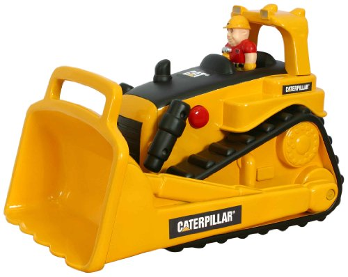 Toy State Caterpillar Construction Big Movin' Rumbler Bulldozer With (Motorized Bulldozer)