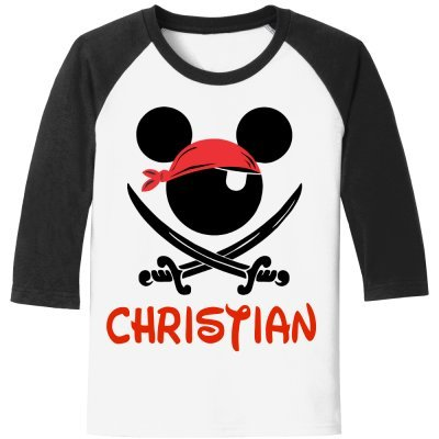 DisGear Pirate Mickey T-Shirt for Disney Cruise Pirate Night - with Personalization Option