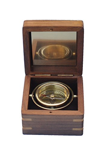 Stanley London Engraved Miniature Boxed Compass