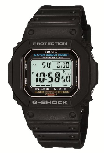 G-shock Solar Watch Tough (Casio G-5600E-1JF G-SHOCK Tough Solar Watch)