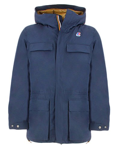 Kway Jonas Thermo HeavyBlu Field Jacket impermeabile Blu XXL Man