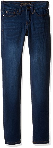 Denim Dark Girls (Celebrity Pink Girls' Big Super Soft Denim Skinny, Queen Dark, 12)